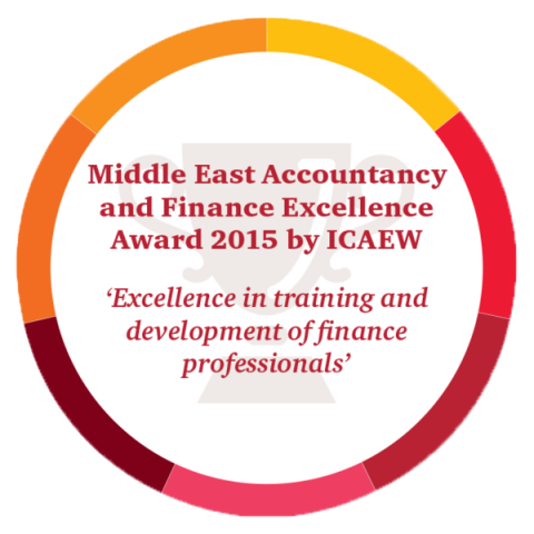 Middle East Accountancy and Finance Excellence Award 2015 by ICAEW